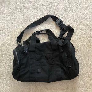 Lululemon Weekend or GYM Black Duffle Bag